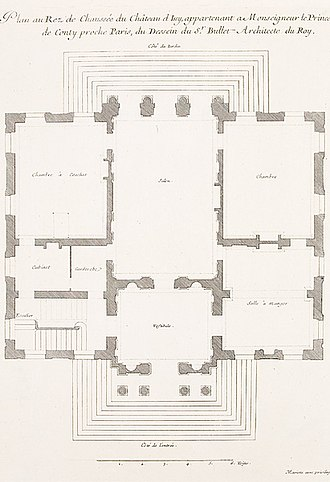 Château d'Issy - Image: Château d'Issy, 1 Ground Floor