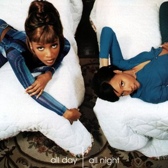 All Day, All Night - Image: Changing Faces All Day, All Night (album cover)