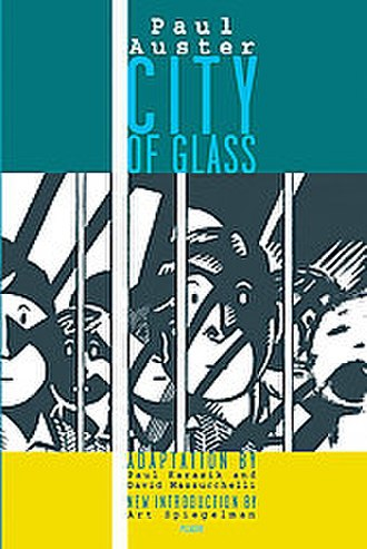 City of Glass (comics) - Cover art for the 2004 Picador edition.