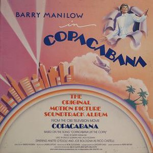 Copacabana: The Original Motion Picture Soundtrack Album - Image: Copacabana Soundtrack Cover