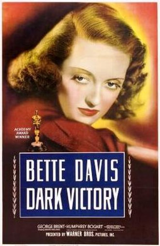 Dark Victory - theatrical release poster
