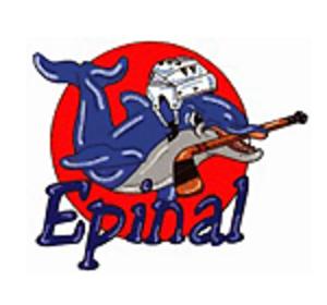 Gamyo d'Épinal - Image: Dauphins d'Épinal logo
