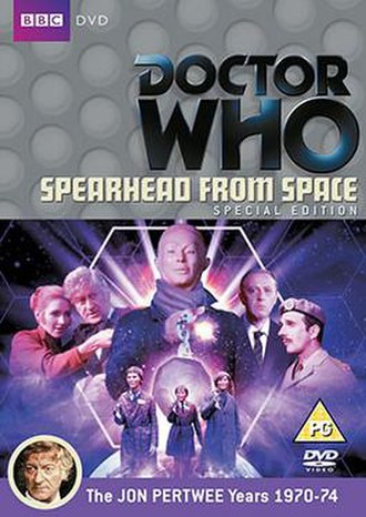 Doctor Who (season 7) - Cover art of the Region 2 DVD release for first serial of the season