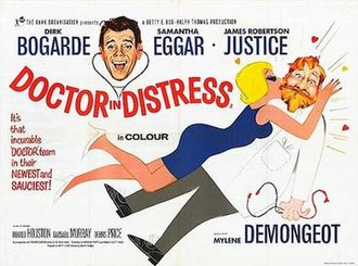 Doctor in Distress (film) - Image: Doctor in Distress British quad poster