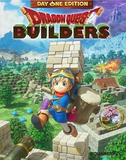 <i>Dragon Quest Builders</i> video game