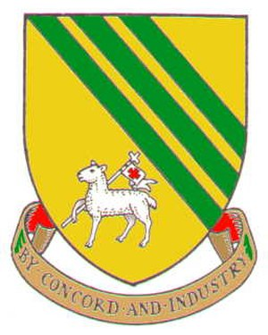 Droylsden - Arms of the former Droylsden Urban District Council