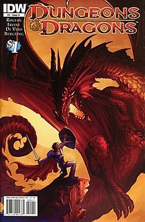 <i>Dungeons & Dragons</i> (IDW Publishing)