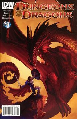 Dungeons & Dragons (IDW Publishing) - Wikipedia