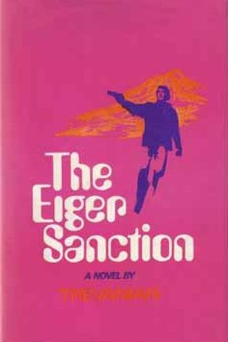 The Eiger Sanction - First edition cover