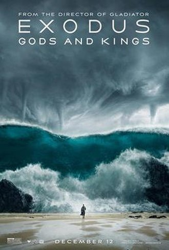 Exodus: Gods and Kings - Theatrical release poster