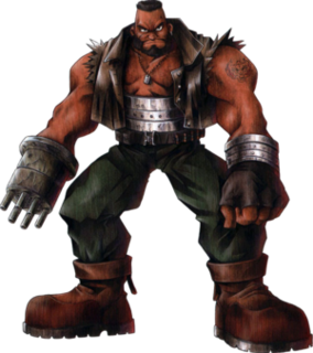 Barret Wallace character in Final Fantasy