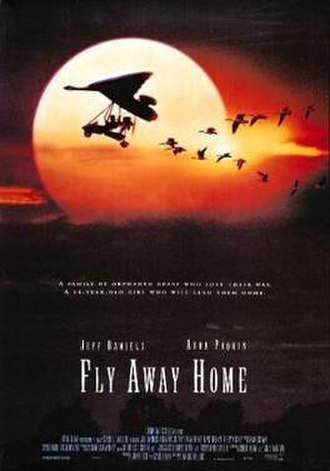 Fly Away Home - Theatrical release poster
