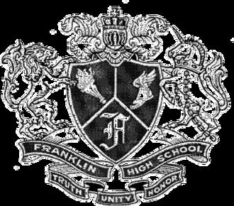 Franklin High School (Seattle) - Image: Franklin HS Seattle Logo