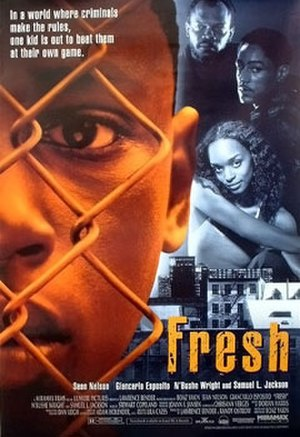 Fresh (1994 film) - Theatrical release poster