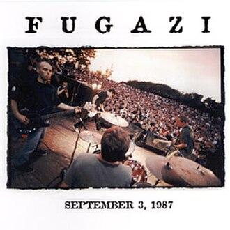 Fugazi Live Series - Image: Fugazi Live Series Vol. 1 cover