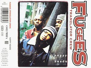 Nappy Heads - Image: Fugees Nappy Heads single cover
