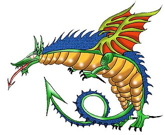 Gorg Mallia - A dragon from one of the PULLU books