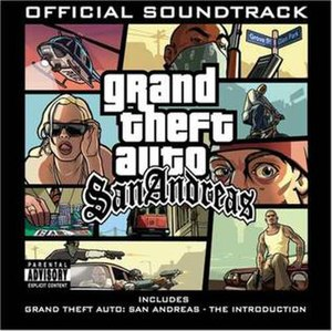 Music of Grand Theft Auto: San Andreas - Image: GTA San Andreas Soundtrack