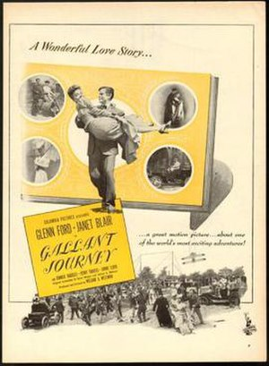 Gallant Journey - Theatrical film poster