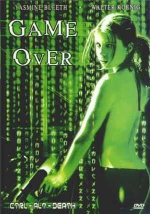 Game Over (2003 film) - DVD cover for Game Over