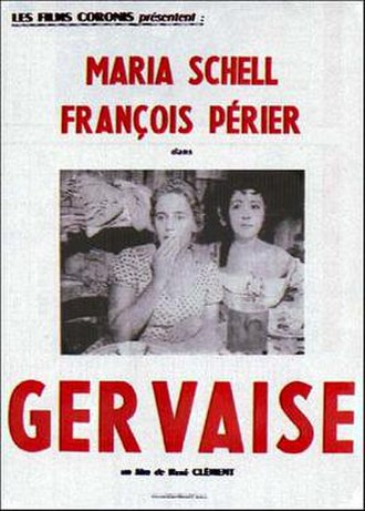 Gervaise (film) - Theatrical release poster
