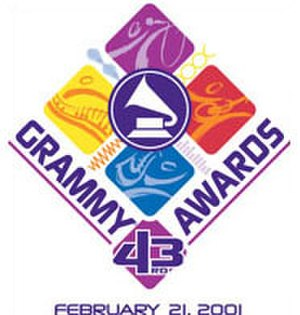 43rd Annual Grammy Awards - Image: Grammyawards 43