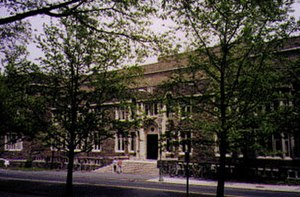 Princeton University Department of Psychology - Green Hall (c. 1996)