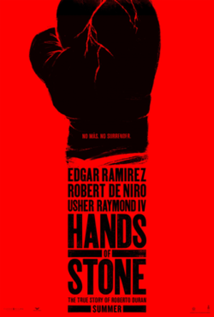 Hands of Stone - Theatrical release poster