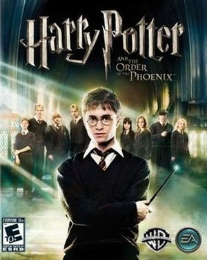 Harry Potter and the Order of the Phoenix (video game) - Image: Harry Potter and the Order of the Phoenix Coverart