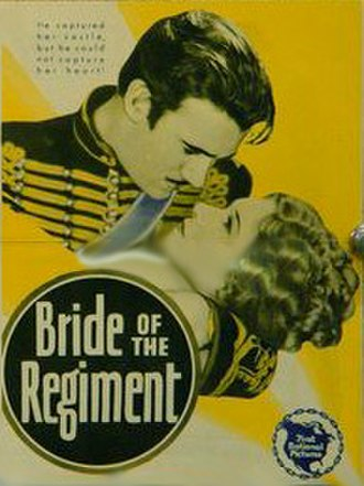 Bride of the Regiment - theatrical release poster