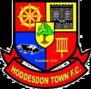 Hoddesdon Town F.C. - Image: Hoddesdon Town F.C. logo