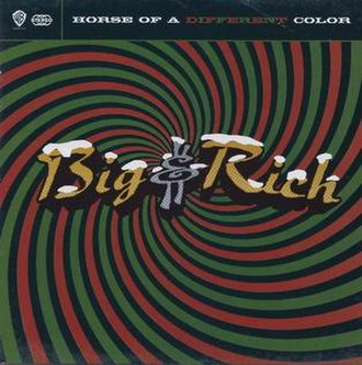 Horse of a Different Color (Big & Rich album) - Image: Horse of a Different Color CHRISTMAS