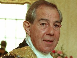 Hugh Smyth - Smyth in his mayoral robes, 1994