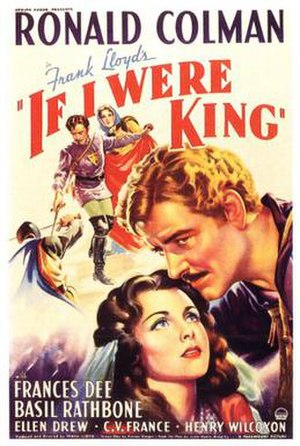 If I Were King - 1938 US theatrical poster