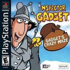 Inspector Gadget: Gadget's Crazy Maze - North American Boxart