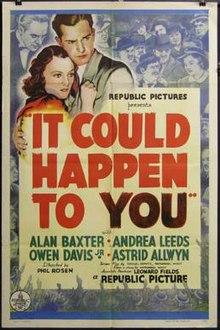 It Could Happen to You (1937 film) poster.jpg