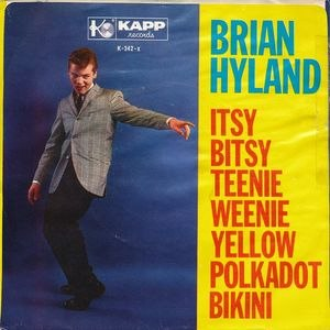 Itsy Bitsy Teenie Weenie Yellow Polkadot Bikini - Image: Itsy Bitsy Teenie Weenie Yellow Polkadot Bikini Brian Hyland