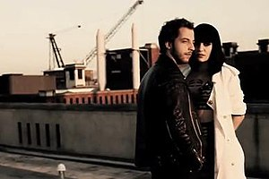 Up (James Morrison song) - Jessie J and Morrison in the music video for 'Up'.