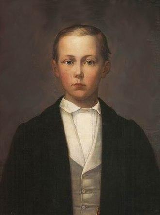 Princess Marianne of the Netherlands - Johannes Wilhelm von Reinhartshausen, the son of Princess Marianne and Johannes van Rossum.