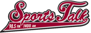 KREF - Image: KREF Sports Talk 1400 98.5 logo
