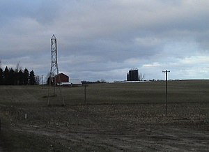 Kent County, Michigan - A farm in Alpine Township