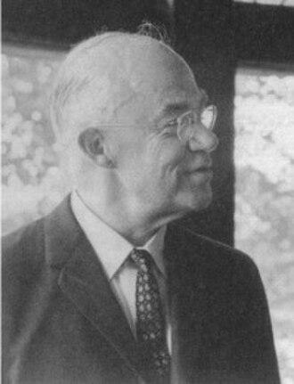 L. Harold DeWolf - Image: L.Harold De Wolf (1905–1986) 1964 photograph