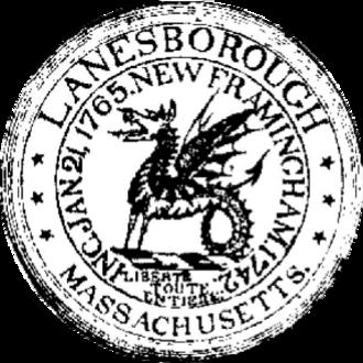 Lanesborough, Massachusetts - Image: Lanesborough MA seal
