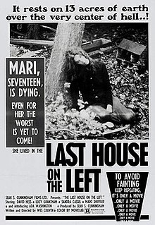 <i>The Last House on the Left</i> (1972 film) 1972 exploitation-horror film by Wes Craven