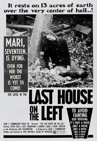The Last House on the Left (1972 film) - Theatrical release poster