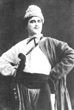 May Night - Leonid Sobinov as Levko, Bolshoi Theatre in 1909