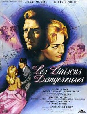 Les Liaisons dangereuses (film) - French film poster