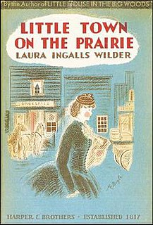 <i>Little Town on the Prairie</i> American childrens novel, 1941, seventh in the Little House series