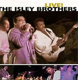 Live! (The Isley Brothers album) - Image: Live 93