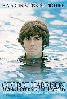 <i>George Harrison: Living in the Material World</i> 2011 film directed by Martin Scorsese